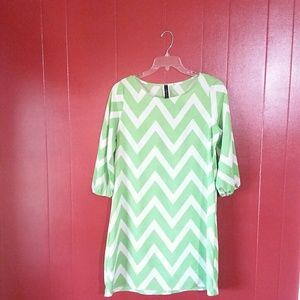 By together chevron dress